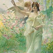 Springtime Allegory Art Print