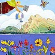 Springtime In The Rockies Art Print