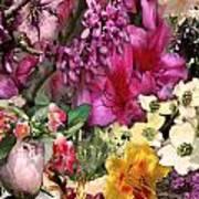 Springtime In Zebulon Left Art Print