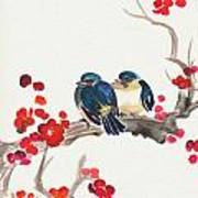Springtime Sweethearts Art Print