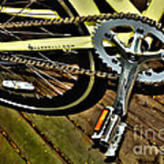 Sprocket And Chain Art Print