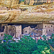 Spruce Tree House On Chapin Mesa In Mesa Verde National Park-colorado  Art Print