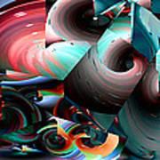 Spun Energy Art Print