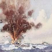 Squadron-commander A.w. Bigsworth Art Print