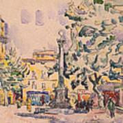 Square Of The Hotel De Ville Art Print