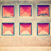 Squares In Wall Art Print