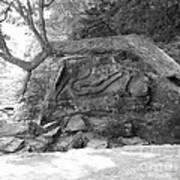 Squaw Rock  Art Print