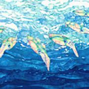 Squid Ballet Art Print