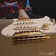 Squier Stratocastor Guitar - 3 Art Print