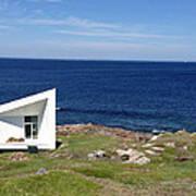 Squish Studio Tilting Fogo Island Newfoundland Art Print