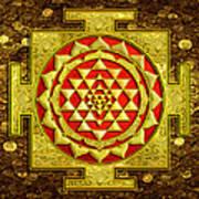 Sri Lakshmi Yantra Art Print