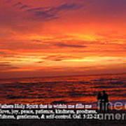 Sri Lankan Sunset Art Print
