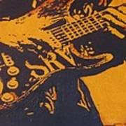 SRV  Number One Fender Stratocaster Art Print