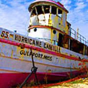 Ss Hurricane Camille Tugboat Art Print