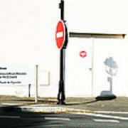 St. Aignan Signs And Shadows Art Print