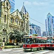 St Andrew Church In Toronto Art Print