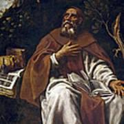 St Anthony Abbot Art Print
