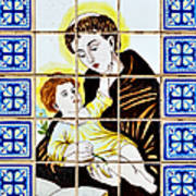 St Anthony Of Padua Art Print