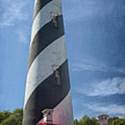 St Augustine Lighthouse Art Print