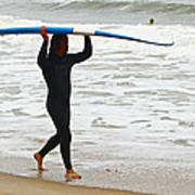 St Augustine Surfer Four Art Print