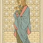 St Barnabas Art Print by English School