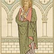 St Bartholomew Art Print by English School