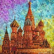 St Basil Art Print