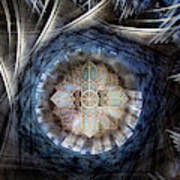 St Davids Cathedral Roof Art Print