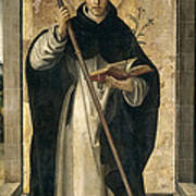 St. Dominic De Guzman Art Print