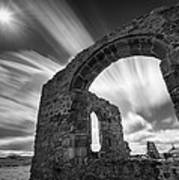 St Dwynwen's Church Art Print by Dave Bowman