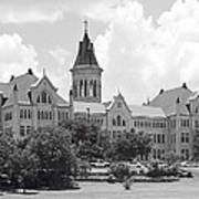 St. Edward's University Old Main I I Art Print