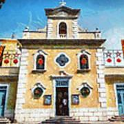 St. Francis Xavier Chapel Macau Art Print
