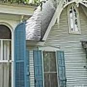 St Francisville Inn Windows Louisiana Art Print
