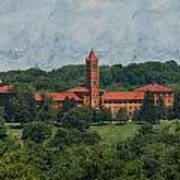 St. Gabriel's From Valley Forge Art Print
