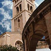 St. George's Cathedral Jerusalem Art Print