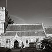 St Georges Church Preshute Art Print