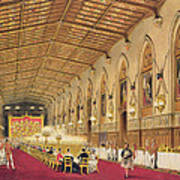 St Georges Hall At Windsor Castle Art Print