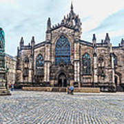 St. Giles Cathedral Art Print