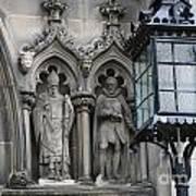 St Giles Church Statues 6600 Art Print