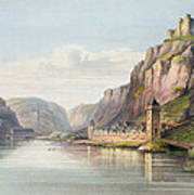 St. Goarshausen, St. Goar Art Print