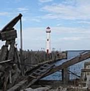 St. Ignace Lighthouse Art Print