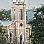 St. James Episcopal Church Wilmington North Carolina Art Print