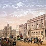 St James Palace And Conservative Club Art Print