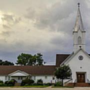 St John Lutheran Church Of Prairie Hill Art Print