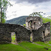 St. John's Episcopal Church Ruins  Harpers Ferry Wv Art Print