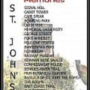 St. John's Memories Art Print