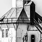 St. Joseph Lighthouse Vertical Panorama Picture  Art Print