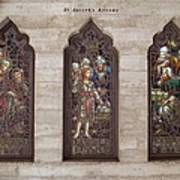 St Josephs Arcade - The Mission Inn Print by Glenn McCarthy Art and Photography