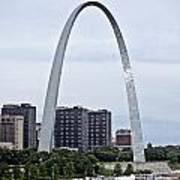 St Louis Arch Art Print