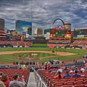 St Louis Cardinals Busch Stadium Dsc06139 Art Print